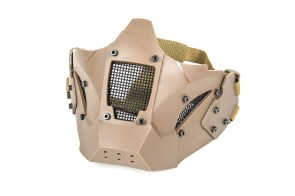 Evolution-Iron-Mask-Double-Belt-Fast-Helmet-Mount-Tan-extra-big-63617-338