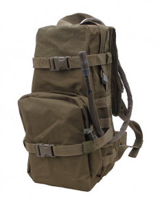 Hydration backpack - olive