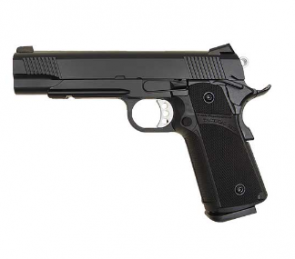 KJ WORKS Tactical K1911 (KP-05) Hi-Capa GasCO2 BlowBack BLACK