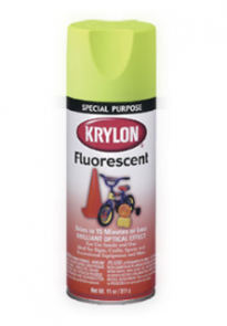 KRYLON Fluorescent Paint (Lemon Yellow)