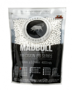 MADBULL 0.20g Precision BBs - bag of 4000 pieces