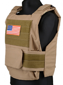 Personal Body Armor - tan